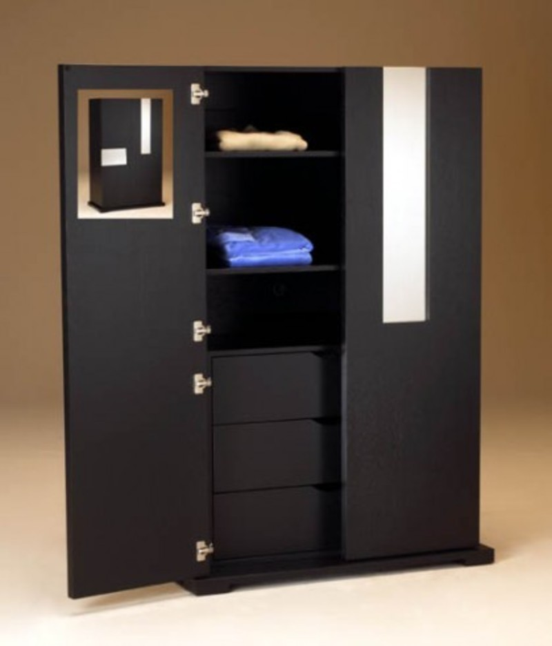 Contemporary Bedroom Armoire Modern Storage Wardrobe