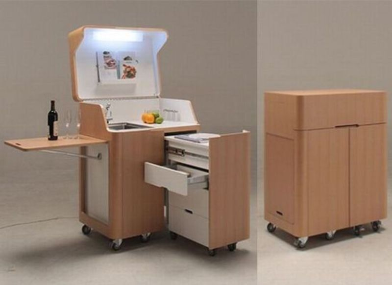 Japanese Space Saving Furniture Simple Home Decoration