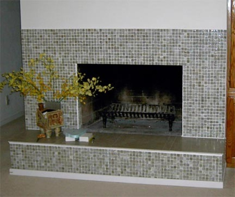 Fireplace tile ideas design bookmark 11286 for Stylish options for fireplace tile ideas