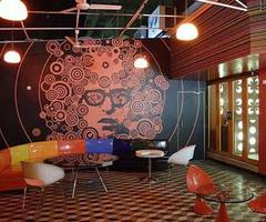 Planet 3 Studio For Cafe Design Ideas In Red Themes