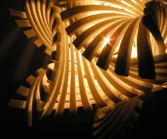 Flame Mgx Pendant Lamp, Creates An Intimate And Unique Atmosphere