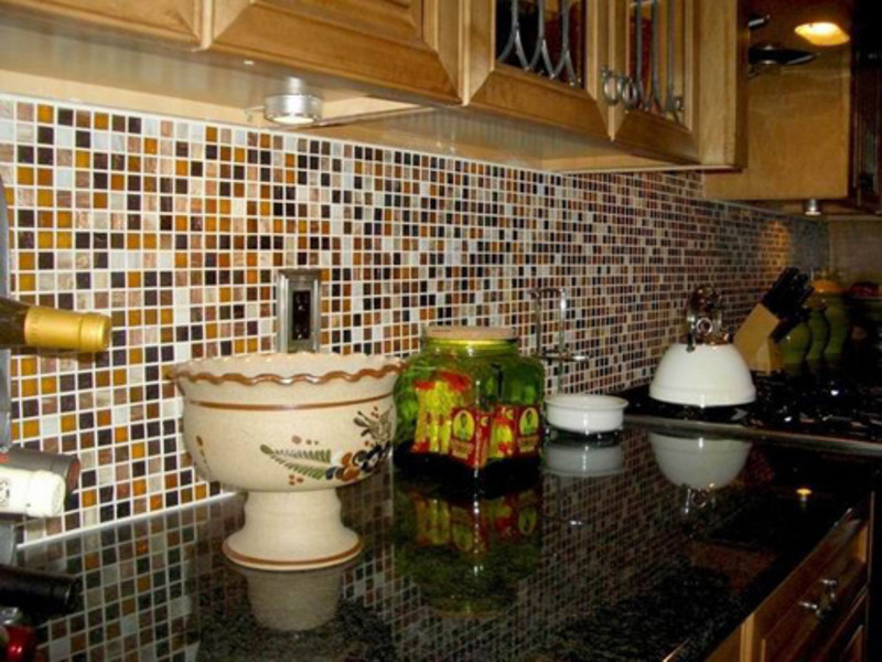 Mosaics glass tile gallery design bookmark 11324 - Simple kitchen tiles ...