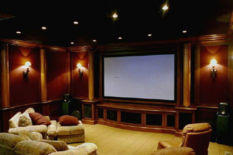 Media Room Decor Mesmerizing With Home Theater Room Design Ideas Photos
