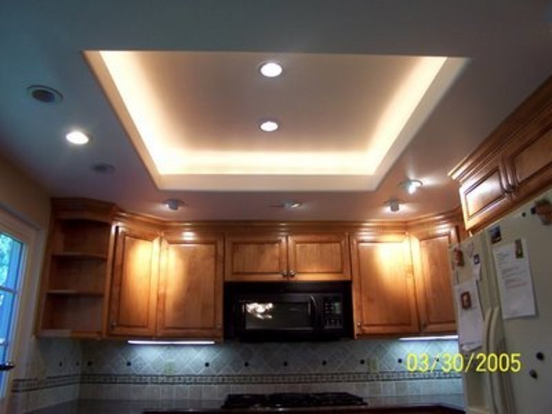 Kitchen ceiling design ideas design bookmark 11393 for Ceiling ideas kitchen