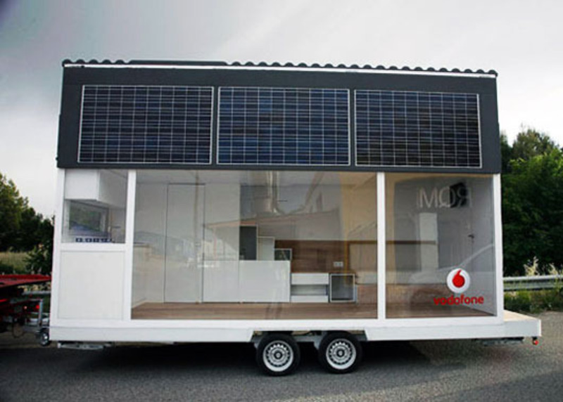 Modern solar powered mobile home by waskman design studio - Mobile home modern design ...