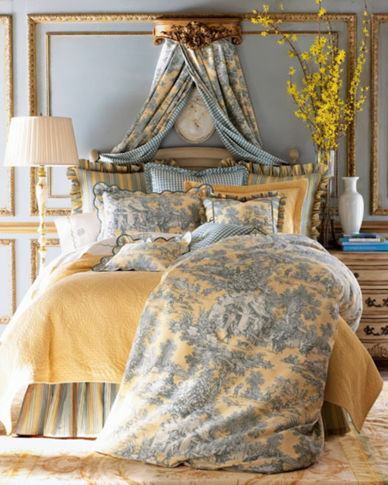 French Bedroom Design Ideas: Luxurious Bedroom Interior Design Inspiration Taken From