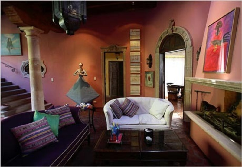 Baños Estilo Mexicano:Mexican Style Homes Interior