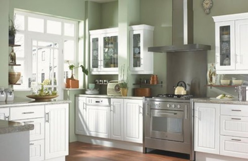 White kitchen design ideas picture design bookmark 11455 for Kitchen design gallery