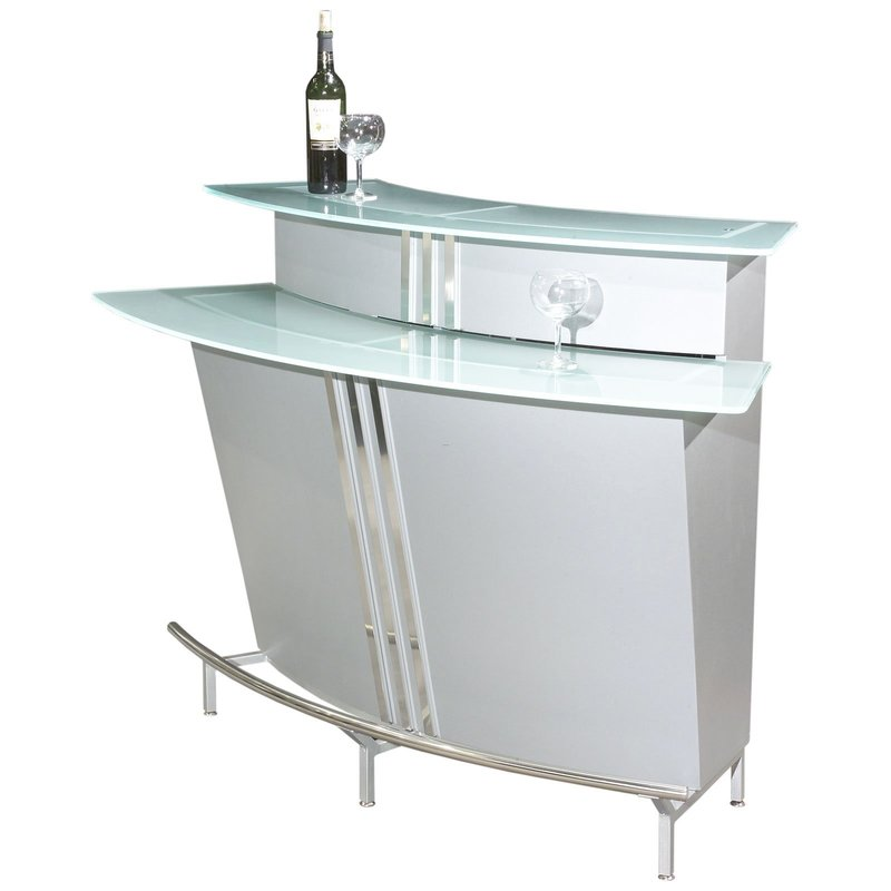 Indoor Home Bars: Chintaly Broadway Two Tiered Indoor Home Bar / Design