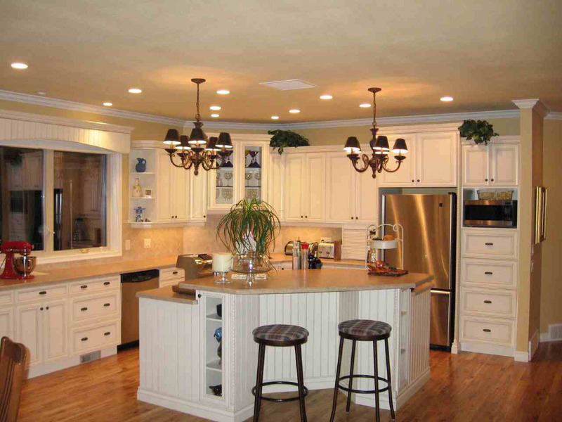 White Kitchen Designs Photos, The Purity Of Modern White Kitchen Interior Design «  Great Home Interior
