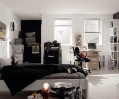 Black And White Teen Room Designs Layout / Designs Ideas And Photos Of House Home And Office Furniture