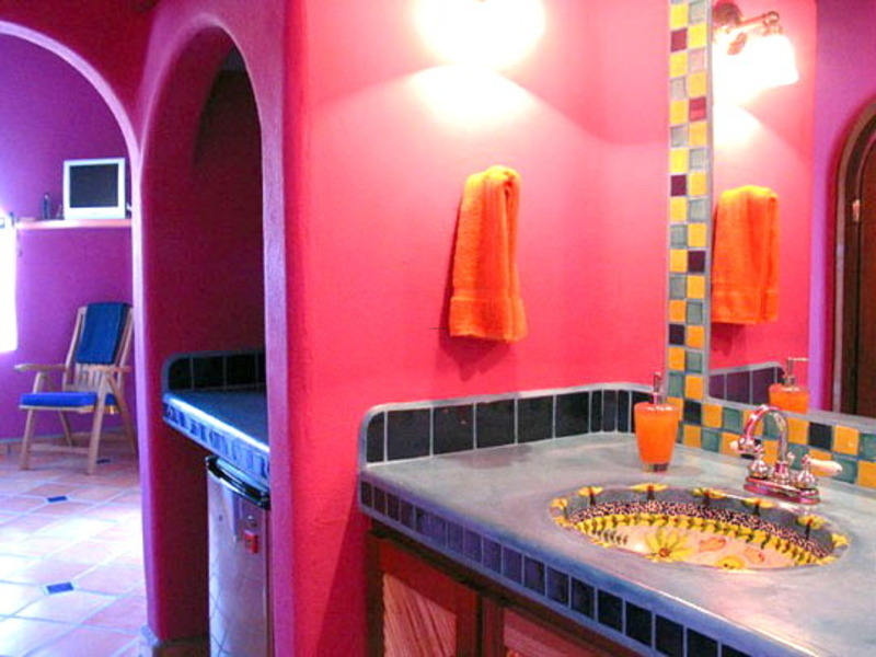 Baños Estilo Mexicano:Mexican Bathroom Design