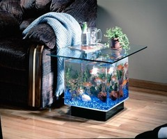 End Table Aquarium
