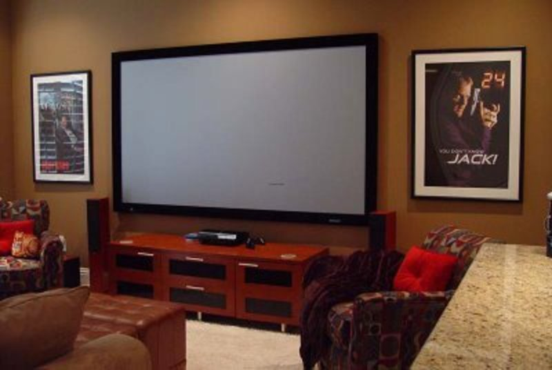 My Dream Diy Media Room / design bookmark #