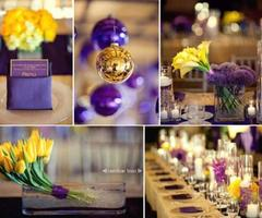 Purple, Gold And Yellow Color Combination Idea Wedding Decoration Purple, Gold And Yellow Color Combination Idea Wedding Decoration2 – Wedding Inspiration Blog