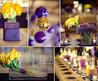 Purple, Gold And Yellow Color Combination Idea Wedding Decoration Purple, Gold And Yellow Color Combination Idea Wedding Decoration2  Wedding Inspiration Blog