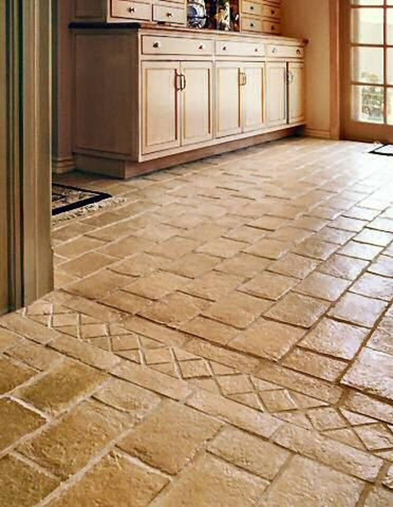 & Great Ideas For Valuable Kitchen Floor Tiles Programs