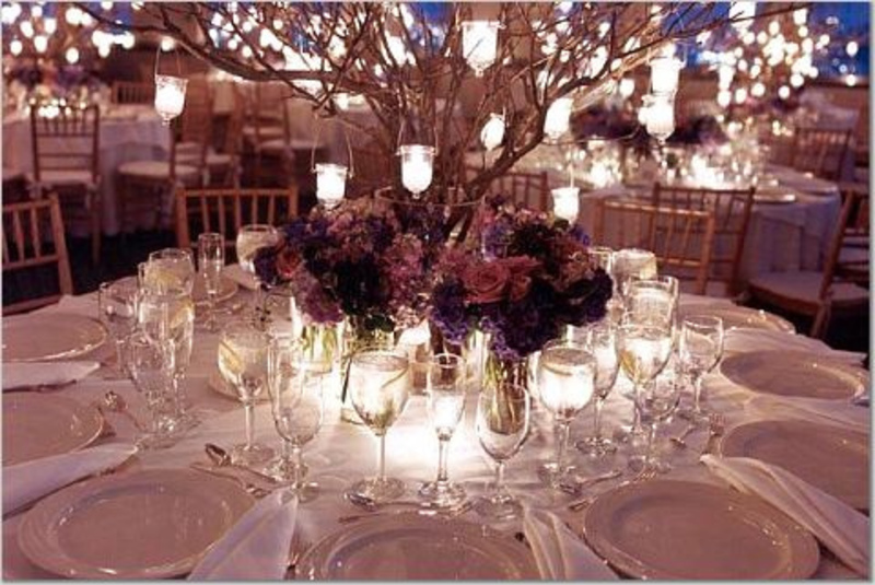 wedding ideas reception table decor