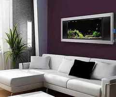 Modern Hi Tech Aquarium For Your Modern House
