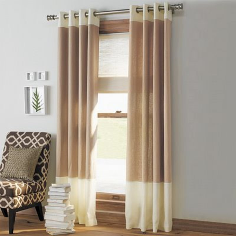 Free Shipping Solid Color Super Soft Window Curtains For