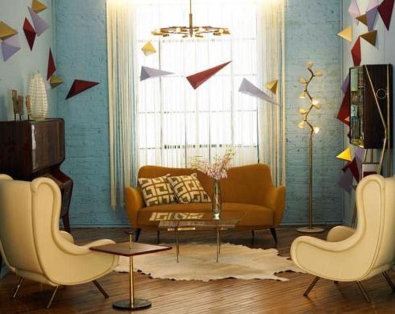 Modern retro the lennoxx design bookmark 11629 for Living room ideas retro