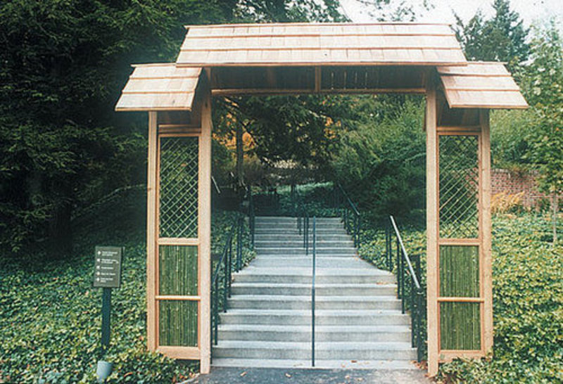 Front Gate Stairs Design Bookmark 11650