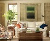 Blend Of Classic And Retro Style In Vintage Living Room Decorating Idea