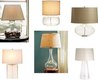 Top Ten: Clear Glass Table Lamps For Under $200.