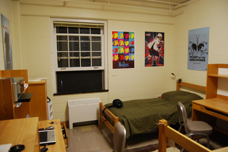 8 Dorm Room Ideas / design bookmark #