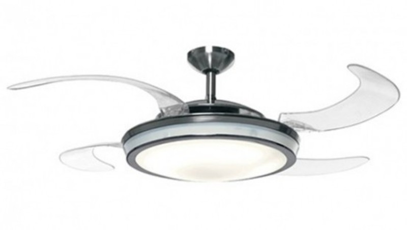 From j a rope of sand win retractable blade ceiling fan - Retractable blade ceiling fan ...
