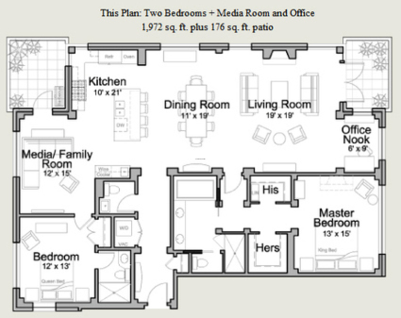 Residential floor plans design bookmark 11795 for Residential house floor plan