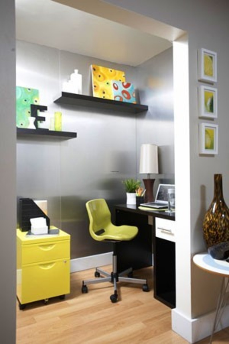 Small office ideas with new unique design design for Cool office space ideas