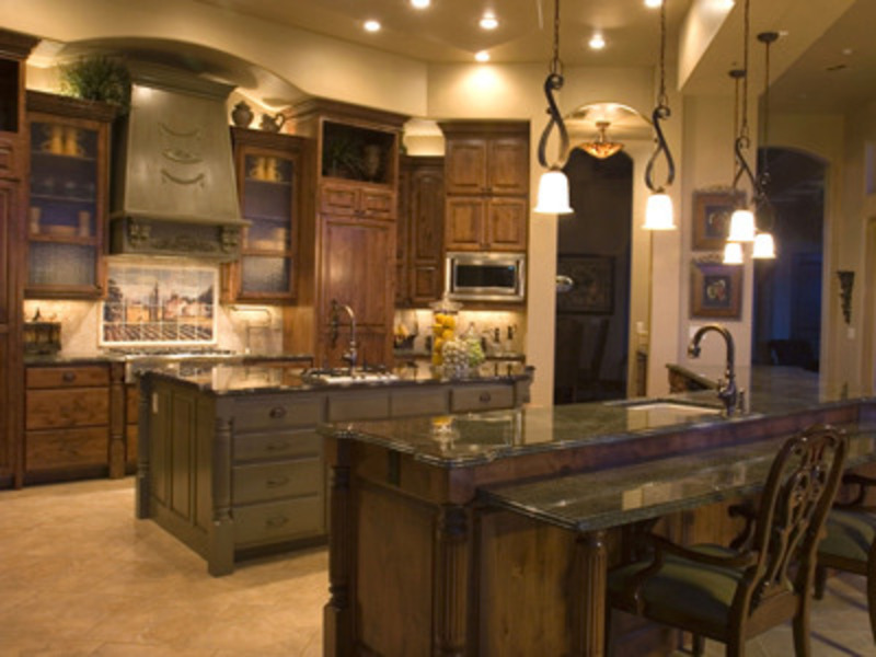 Tuscan style kitchens design bookmark 11827 for Tuscan kitchen design