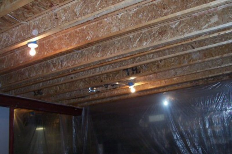 Basement Ceiling Ideas Painted Basement Ceiling How