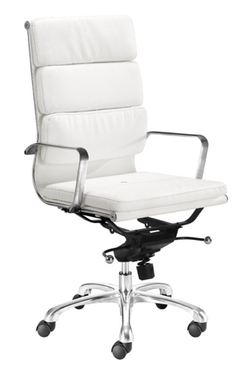Modern office chairs designs by zuo modern design for Modern white office chair