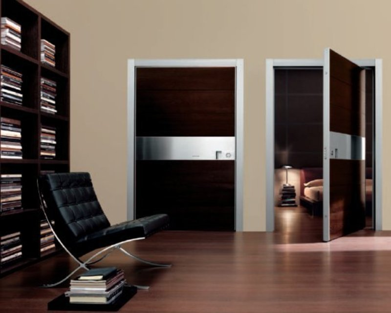 Modern Doors From Oikos / design bookmark #