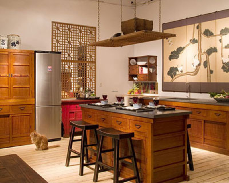 Asian Kitchen Decor