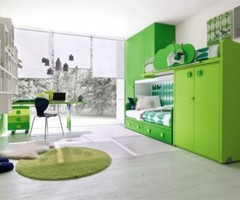 Green Kids Bedroom Furniture Ideas By Stemik Living