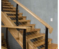 Keuka Studios With Cable Railing System Design In New York
