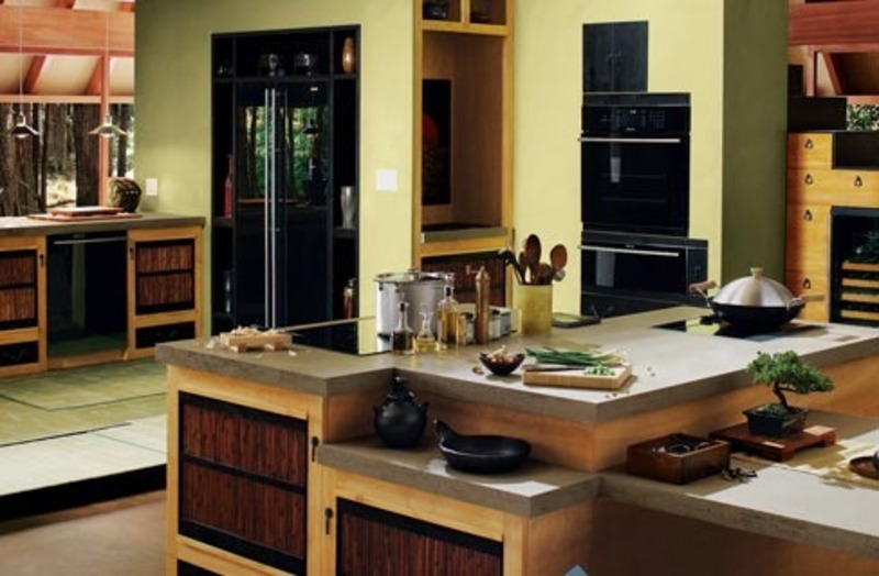 Luxury Asian Kitchen Inspirations Design Bookmark 11940