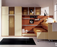 17 Modern Kid Bedroom Designs By Italian Maker Mariani: Childrens Room Wardrobe