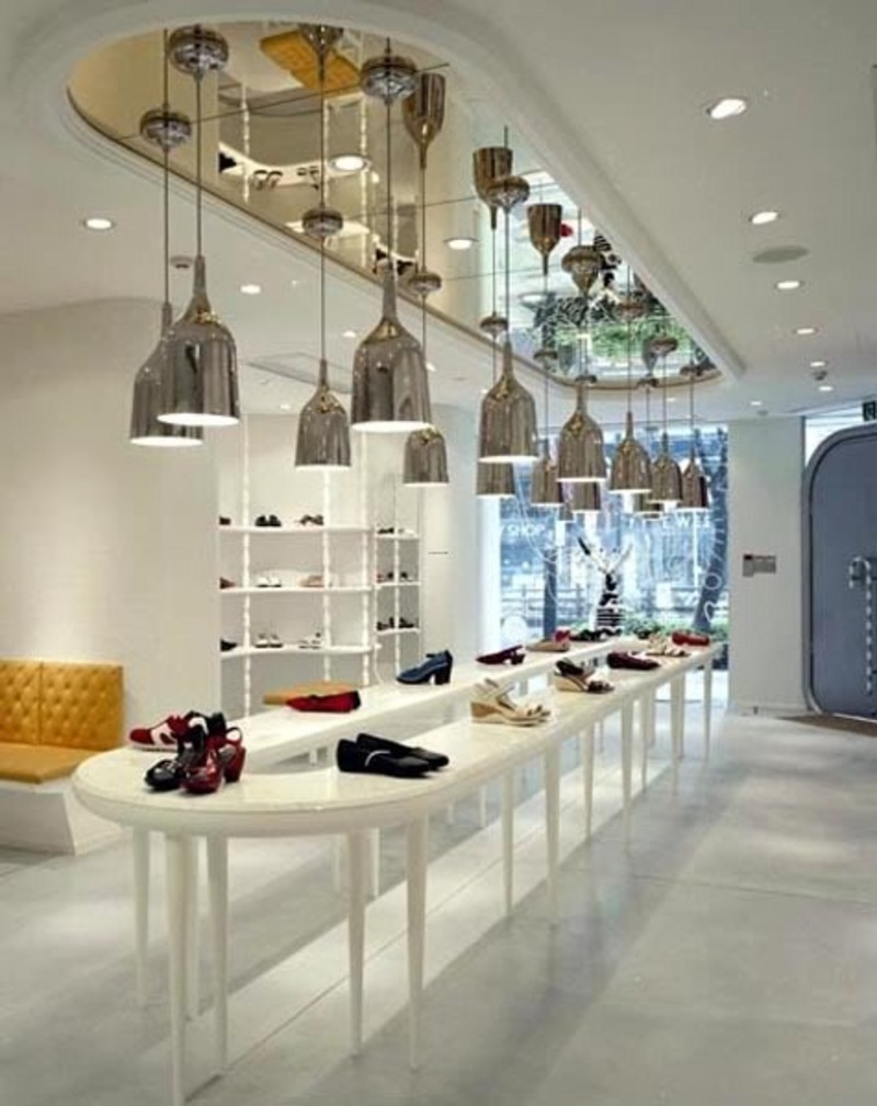 Interior Design Stores Impressive With Shoe Store Interior Design Ideas Photos