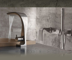 Modern Bathroom Faucets, The New Idra And Piano Faucets By Bandini