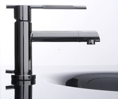 Bandini Bathroom Faucet, Modern Lines, Distinctive Shapes And Unique Characteristics