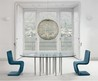 Mille  Round Glass Top Dining Tables And Rectangle By Bonaldo