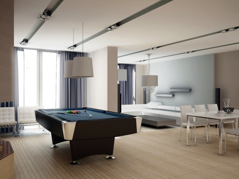 Modern Game Room, Styles For A Game Room
