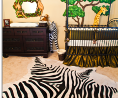 Baby Boys Safari Nursery Design