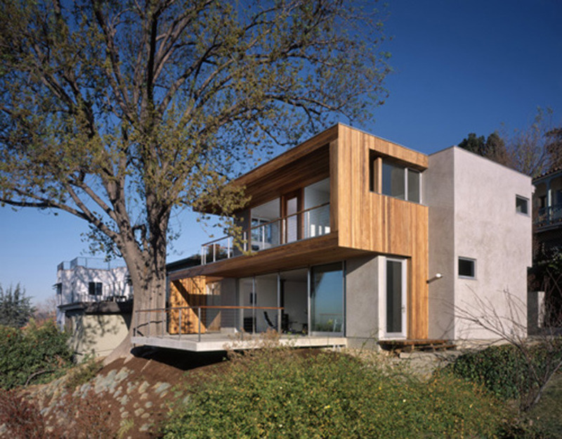 Modern Tree House Designs, Tree House Architecture Design California By Standard Architects