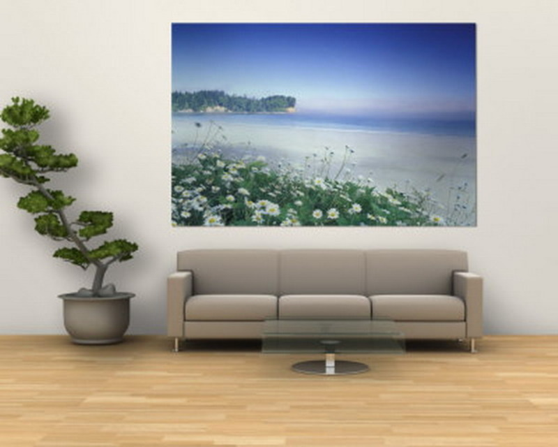 Simple living room wall sticker murals ideas design for Living room wall designs with paint