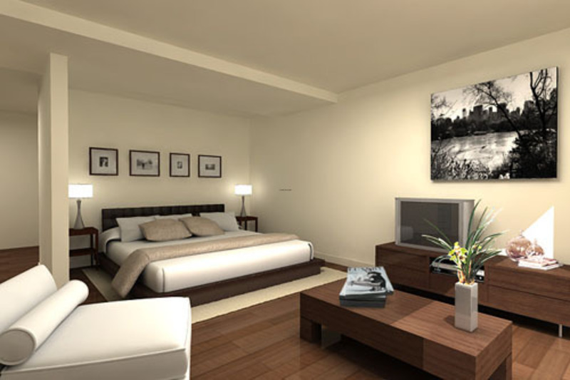 Modern Guest Bedroom Furniture Design Concept Design